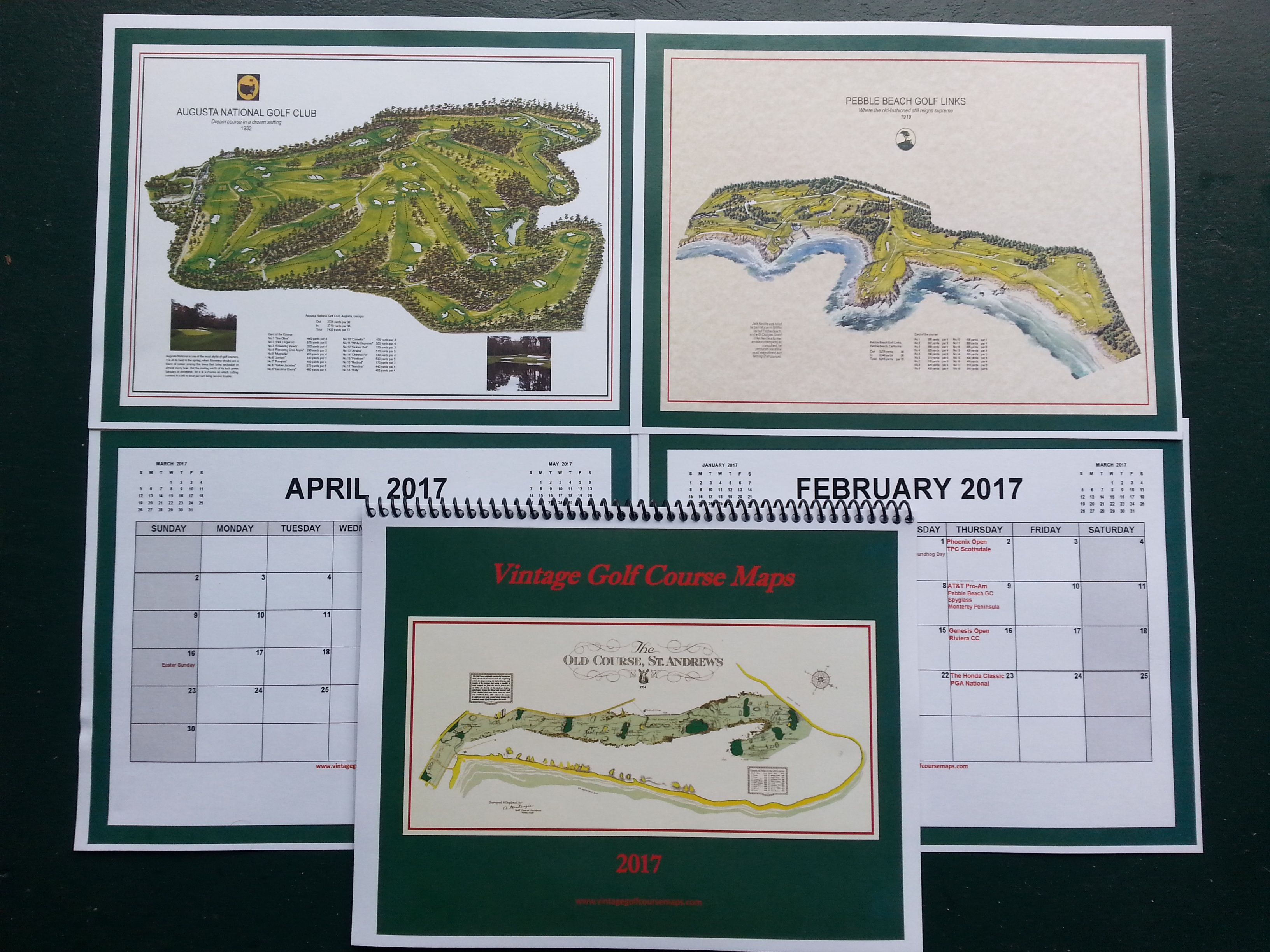 Buy - Us open course map
